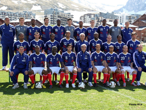 FIFA World Cup South Africa 2010 wallpaper entitled france