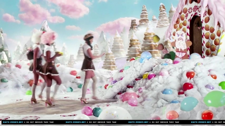 katy perry's California gurls screencaps