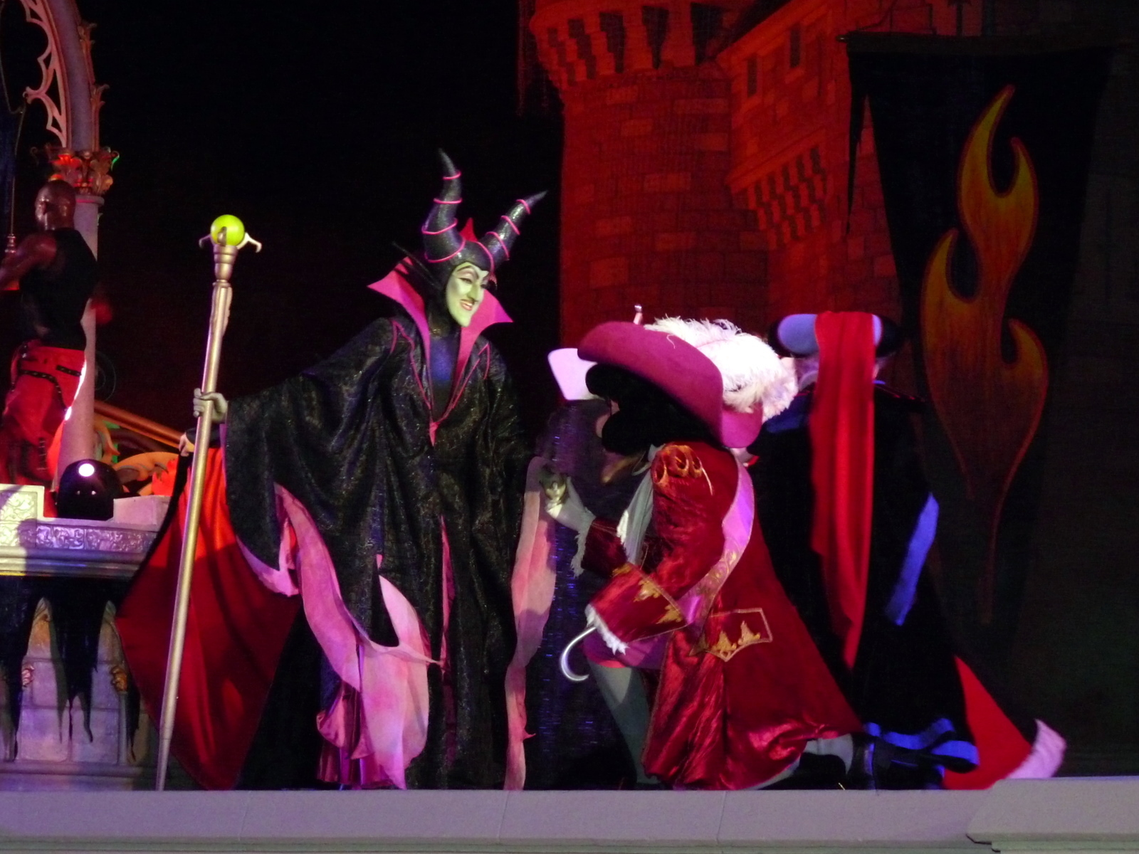Real Life Maleficent And Captain Hook Disney Photo