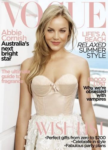"Abbie Cornish - ""VOGUE"" Australia 2009"