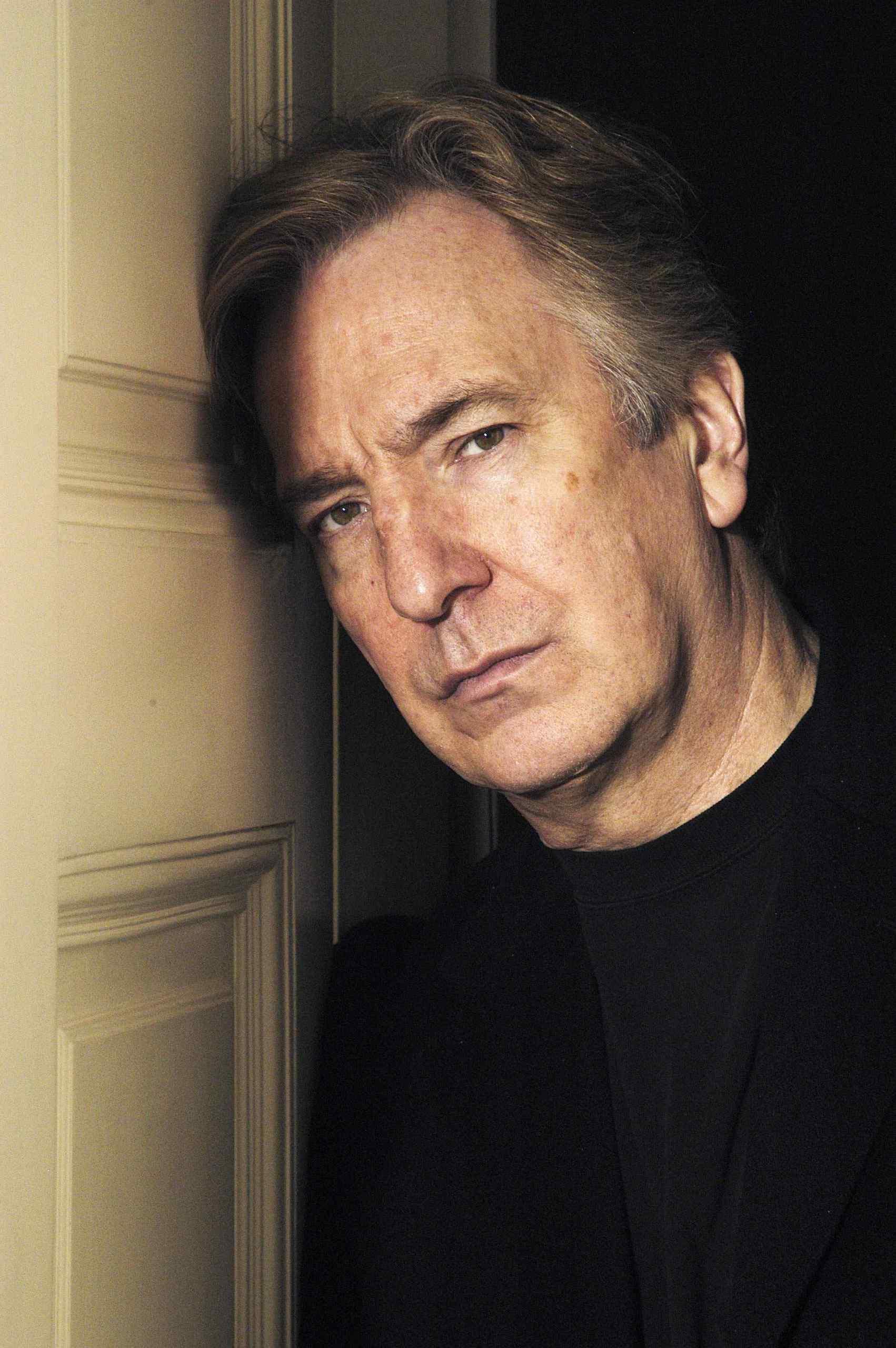NPG x46612; Alan Rickman - Portrait - National Portrait