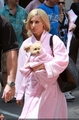 Ashley on set of Sharpay's Fabulous Adventure-June 20th,2010