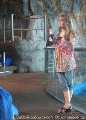 At Shedd Aquarium(June 8 2010)