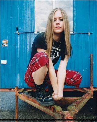 Avril Photoshoot Outtakes
