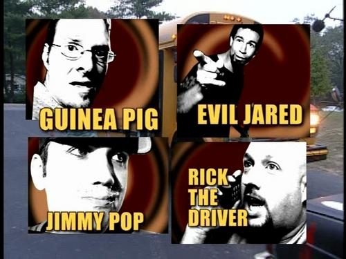 Bloodhound Gang achtergrond titled BHG on Viva La Bam: Scavenger Hunt