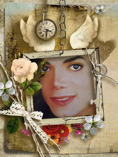 Beautiful and silly MJ Foto Art