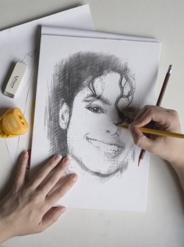Beautiful and silly MJ фото Art