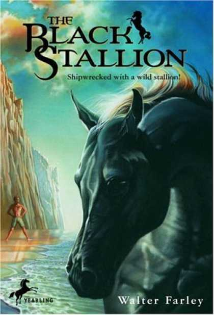 Book Cover In Black ~ The black stallion images book cover
