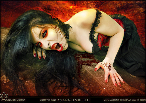 Blood artwork