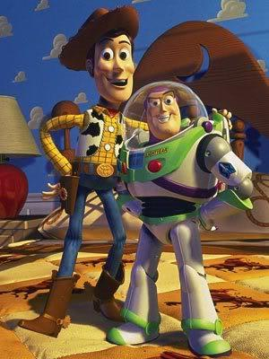 Buzz and Woody
