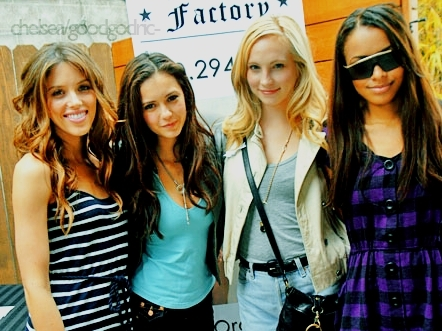 Candice Nina Kayla Katerina - the-vampire-diaries photo