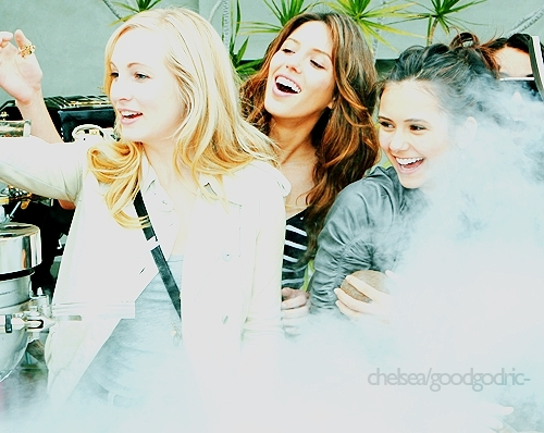 Candice Nina Kayla - the-vampire-diaries photo
