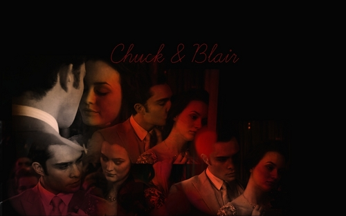 Chuck बास and Blair Waldorf