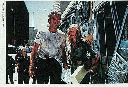 Clint & Sondra in The Gauntlet