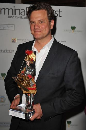 Colin Firth fond d'écran called Colin Firth at the Taormina Film Festival 2010