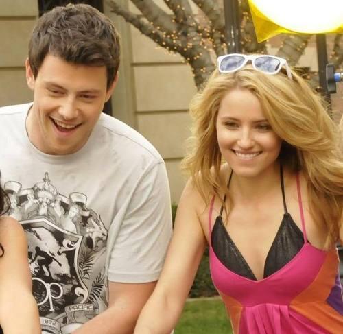 Finn & Quinn wallpaper called Cory & Dianna