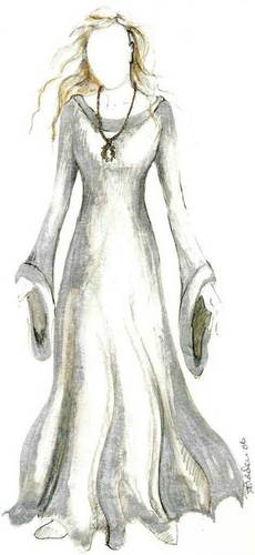 Costume Sketch - Yvaine
