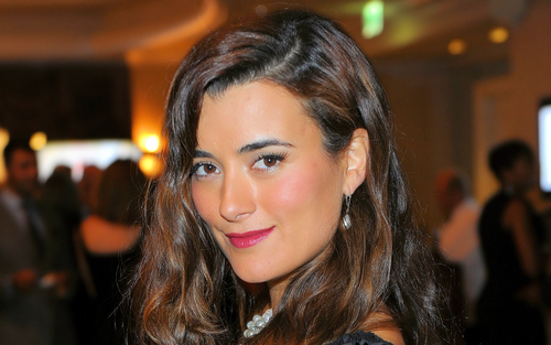 Cote De Pablo at a Monte Carlo koktel Party 19/06/10