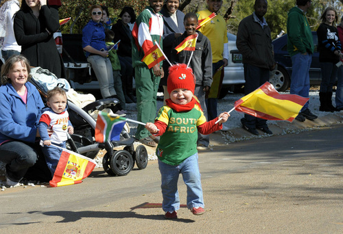 Cute Spanish Supporter
