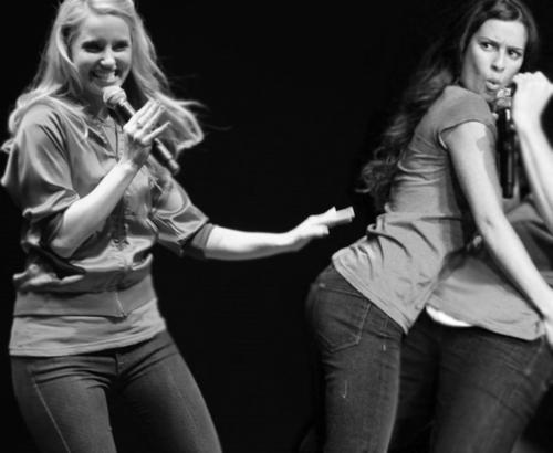 Dianna and Lea *-*
