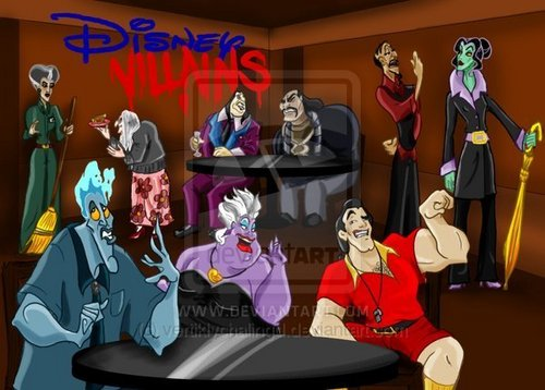 Disney school- Villian staff