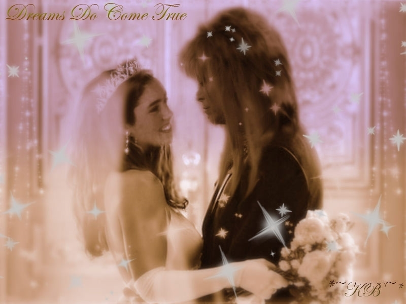 Dreams Do Come True Jareth And Sarah Wallpaper 13100252 Fanpop