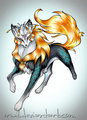 Elemental भेड़िया