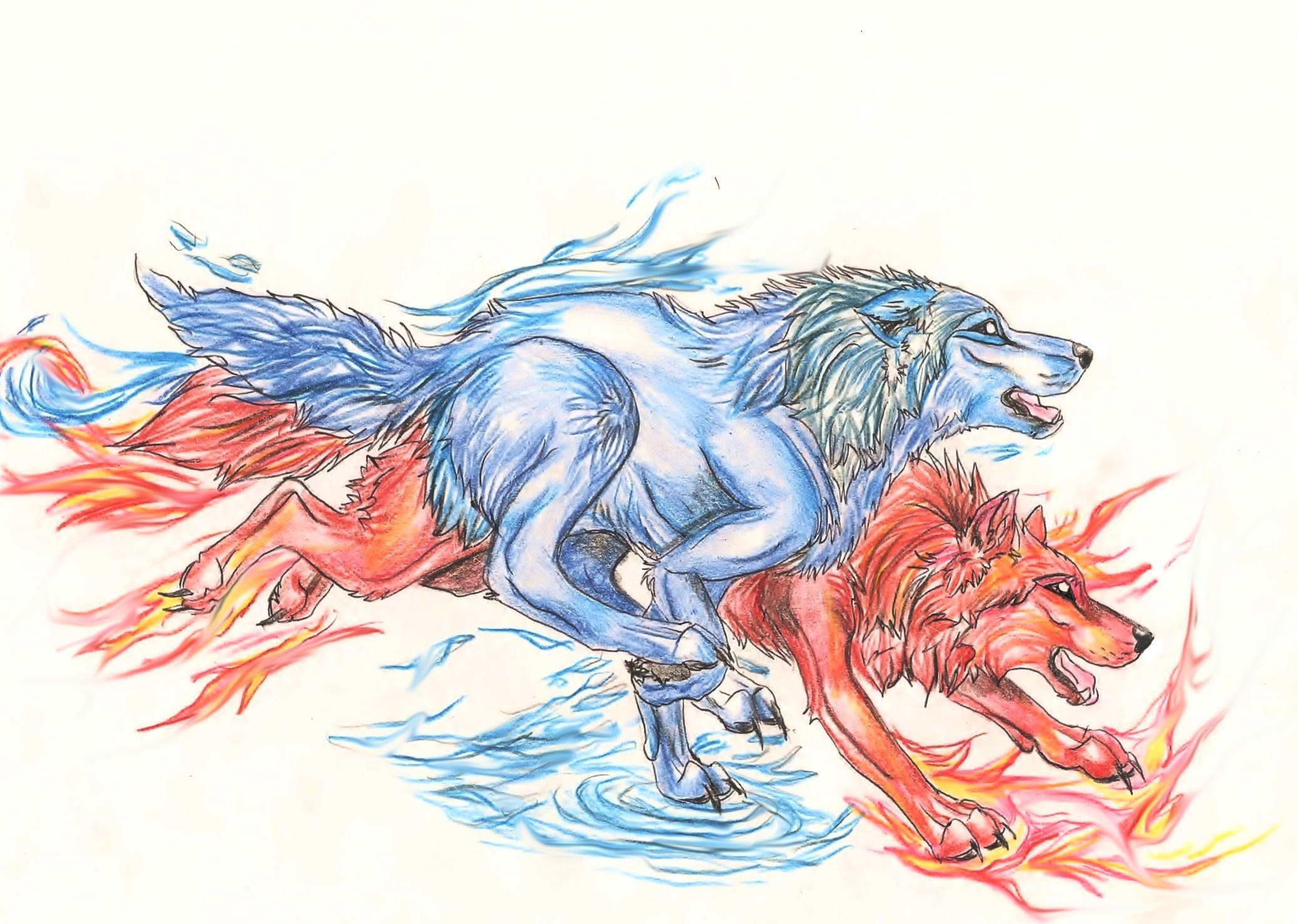 Wolves Spirit War: Fire and Ice, a roleplay on RolePlayGateway