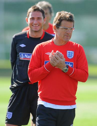England team training (June 21)