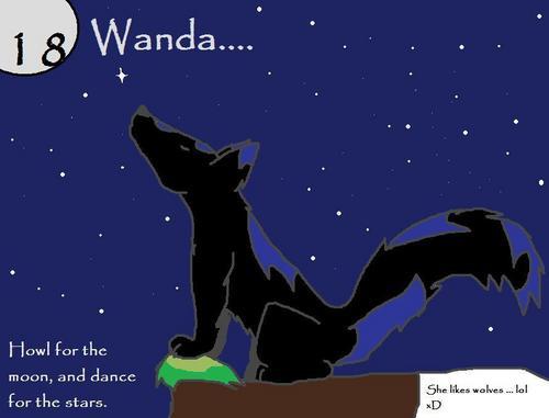 For 18 Wanda :D