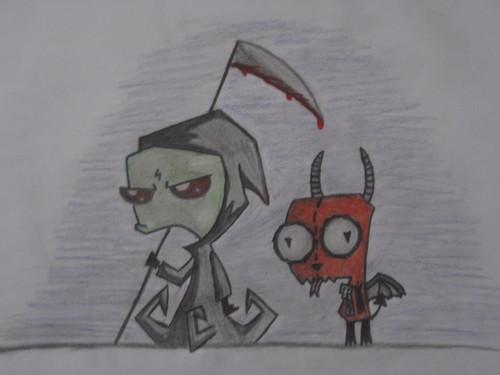 Grim Zim and Demon 吉尔