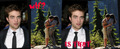 HB KISS AND ROB.... (funny) - twilight-series photo