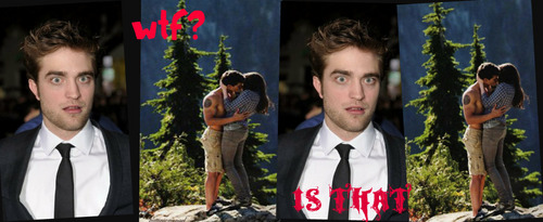 HB kiss AND ROB.... (funny)