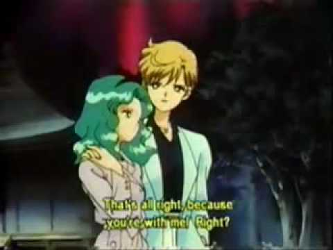 Sailor Uranus and Sailor Neptune karatasi la kupamba ukuta entitled Haruka und Michiru
