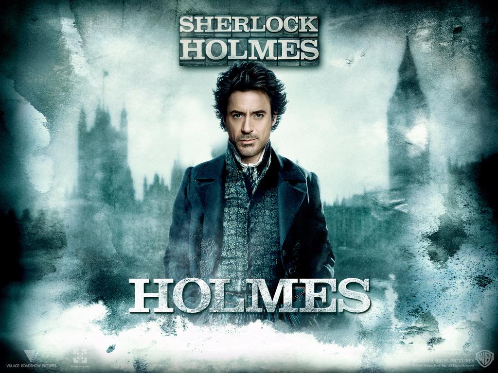 Holmes - Robert Downey Jr. as Sherlock Holmes Wallpaper ...