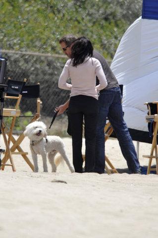 Hugh/Lisa and one of Lisa´s dogs