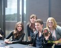Jackson Rathbone and Nicola Peltz in Seattle - twilight-series photo