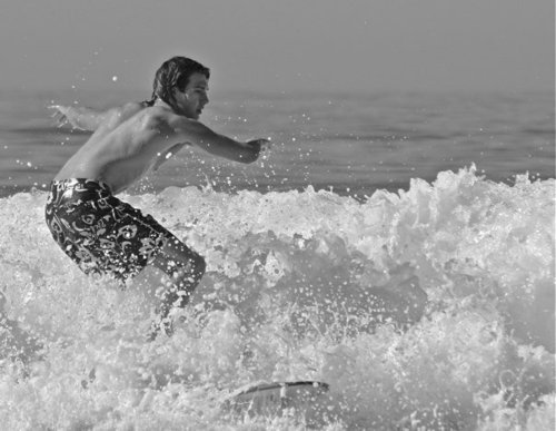 James Surfing
