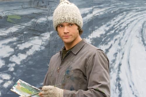 Thomas Kinkade's Christmas Cottage wallpaper entitled Jared as Young Thomas Kinkade