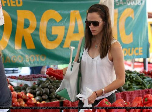 Jen At The Farmer's Market!