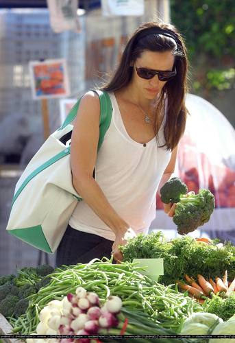 Jen At The Farmer's Market!