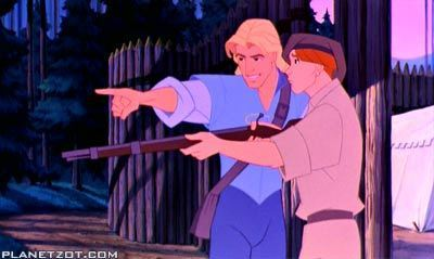 Disney Prince kertas dinding titled John Smith