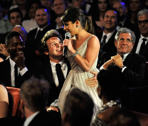 Jon &amp; Lea - Lea Michele and Jonathan Groff Fan Art (13102238) - Fanpop