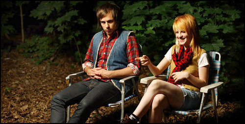 Josh Farro & Hayley Williams