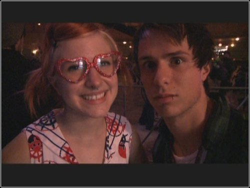 IsabellaMCullen wallpaper entitled Josh Farro & Hayley Williams