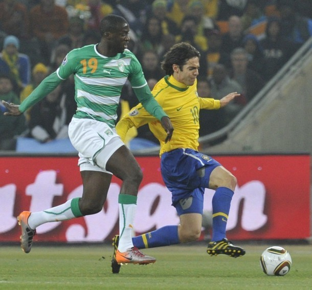 Kaka Brazil: Brazil (3) Vs. Ivory Coast (1)