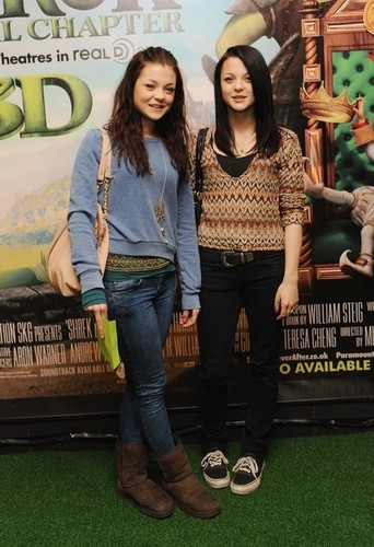 Kat and Meg at 'Shrek Forever After' premiere (Jun 20)