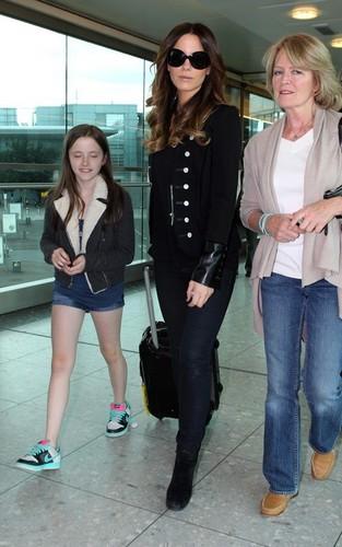 Kate @ Heathrow Airport