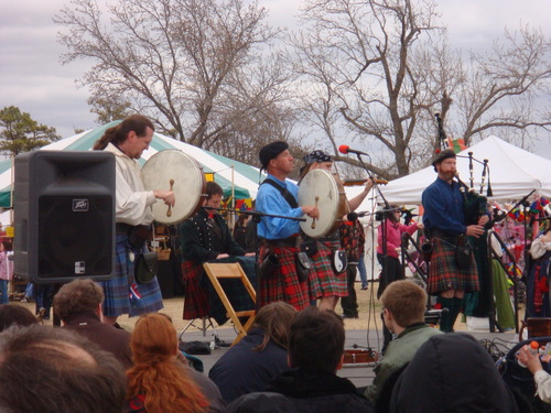 Kilts at the OU MedFair