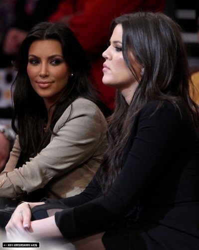 Kim attends NBA Finals 2010: Boston Celtics v Los Angeles Lakers game